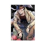 Anime-Poster One Punch Man Zombieman Leinwand Poster Schlafzimmer Dekoration Sport Landschaft Büro Zimmer Dekor Geschenk 30 x 45 cm ohne Rahmen