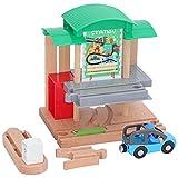 Richolyn Zug Spielzeug Kinder Train Toy Wood Holzeisenbahn Set Eisenbahn Aus Holz Spielzeugeisenbahn Spielzeug Eisenbahn Zubehör Holz Für Kinder