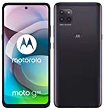 moto g 5G Dual-SIM Smartphone (6,7'-Max Vision-FHD+-Display, 48-MP-Dreifach-Kamerasystem, 64 GB/4 GB, 5000 mAh-Akku, Android 10) Schwarz, inkl. Schutzcover + KFZ-Adapter [Exklusiv bei Amazon]