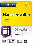 WISO Hausverwalter 2020 Standard - Die Rundum-sorglos-Lösung für kleine Hausverwaltungen und Eigentümer | Standard | PC | PC Aktivierungscode per Email