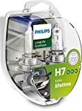 Philips 12972LLECOS2 LongLife EcoVision H7 Scheinwerferlampe, 2-er Kit