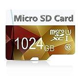 Micro-SD-Speicherkarte SDXC 256 GB/1024 GB Klasse 10 High Speed mit Adapter Micro SD (1024 GB - 3)