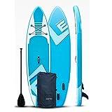MXSXN SUP Board Aufblasbare Stand Up Paddle Board 150Kg 305X76x15cm 6 Zoll Dick with Paddling Board Zubehör Verstellbares Paddel,Pumpe,ISUP-Reiserucksack,Leine,wasserdichte Tasche