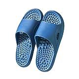 Haus Hausschuhe für Männer Offene Zehen, Herren Womens Haus Hausschuhe Reflexologie & Fuß Massage Hausschuhe Sandalen für Männer & Frauen Erholung Sandalen Home Schuhe Bogen Unterstützung