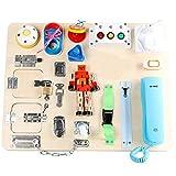 Frühe Erziehung Gehirnspiel für Kleine Kinder, Kleinkindbesuch Board Multifunktionale Pädagogische Baby Feinmotorische Fähigkeiten Practice Toy