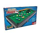 Noris 606167704 Pool Billard & Snooker inkl. 2 Queues, 16 Billard und 17 Snooker Kugeln und Triangel, für Kinder ab 4 Jahren