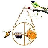 Futterstation für Mehlwürmer zum Aufhängen – Futterstation für Wildvögel, Vogeltränke für Samen, Futterspender zum Aufhängen für Wildvögel, für Garten, Außenb