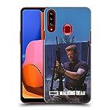 Head Case Designs Offizielle AMC The Walking Dead Abraham Gefilterte Persönlichkeiten Harte Rueckseiten Handyhülle Hülle Huelle kompatibel mit Samsung Galaxy A20s (2019)