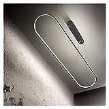 JSJJRGB Leuchter Postmoderne LED-Kronleuchter Runway Pendelleuchte Esszimmer Küchentisch-Aufhängungsleuchten 2.4g Fernbedienung (Emitting Color : 3 Colors, Lampshade Color : White)