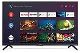 SHARP 43BN6EA Android TV 108 cm (43 Zoll) 4K Ultra HD LED Fernseher (Smart TV, Harman Kardon, Dolby Atmos) [Modelljahr 2019]
