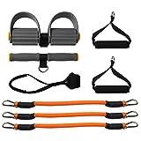 LIULU Bein Elastisches Seiltraining Fitnessgeräte Yoga Puller Tragbare Muskelkraft Frühlingstrainer Expander Sportartikel