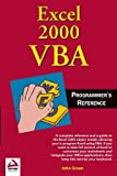 Excel 2000 VBA Programmers Reference