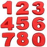 Kuchenform Zahlen Silikon Kuchenform Backform Zahlen Anzahl Geburtstag Kuchenform Rot Kuchen Silikonbackform 0-8 Anders Zahlen für Geburtstage,Jubiläen,Partys und sonstige besondere Anlässe (Nr. 7)