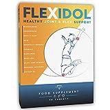 FLEXIDOL® | Glucosamin Chondroitin Hochdosiert | Glucosamin | Ergänzung für gesunde Gelenke und Gelenkschmerzen mit MSM, Teufelskralle, Boswellia Serrata, Kurkuma, Aloe, Mangan, Vitamin D3 | 48 cpr