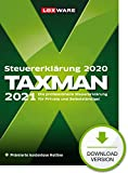 Lexware Taxman 2021 Download für das Steuerjahr 2020 | Basis | PC | PC Aktivierungscode per Email