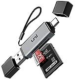 SD Kartenleser, uni USB Kartenleser, USB C Kartenleser, Micro SD Adapter, Kartenlesegerät USB Typ C, kompatibel für MacBook Pro, MacBook, iPad Pro 2020/2018, Galaxy S20, Huawei P40
