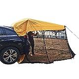 su-luoyu Auto Markise Sonnensegel Für Wohnwagen Wohnmobil Zeltplanen, Pilote Für VW Caddy Heckzelt Hecklappenzelt Camping Heckklappe Für Kombis Und Kleine SUV- / MPV-Fahrzeuge