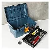 Werkzeugkasten Multifunktions-Werkzeugkasten Home Fahrzeugpflege Hand-Künstler-Hardware-Reparatur-Werkzeugkasten-Gehäuse Kunststoff-Speicher-Hand-Werkzeugkiste Aufbewahrungsbox/ Werkzeugbox