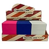 12 x Zigaretten Big Box ohne Steg mit gummierte Soft-Touch Oberfläche