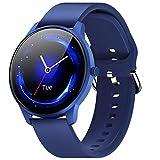 CUBOT W03 Smartwatch, Fitness Tracker für Damen/Herren, 1.28 Zoll Touchscreen, IP68 Wasserdicht Schrittzähler mit Schlafmonitor, für Android/iOS, B