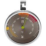 WMF Backofenthermometer analog Ø 6,5 cm, Cromargan Edelstahl, Glas bis 300°C