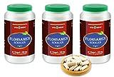VITAIDEAL ® Flohsamenschalen (Plantago ovata Forssk) 3x360 Kapseln je 550mg, aus rein natürlichen Kräutern ohne Zusatzstoffe von NEZ-Diskounter