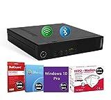 HomeOffice PC Computer Intel Quad Core i5-4570T 4 GB 500 GB HDD BT & W-LAN Gratis Masken Windows 10 Pro BullGuard SoftMaker Office (Generalüberholt)