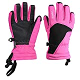 Kinder-Ski-Handschuhe Winddichtes Winter Snowboard Thermal Insulated Schnee Handschuhe für Jungen, Mädchen, Outdoor Sports Pink Größe S/M Industrial Tools