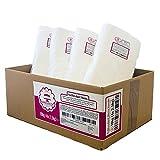 Bakedecor Rollfondant Extra Weiß mit Vanille Geschmack 10kg (4x 2,5kg)   Hochwertig   Reißfest   Einfärbbar   Leichtes Ausrollen   Flexibel   Perfekt zum Dekorieren von Torten   Vorteilspack