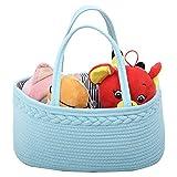 Dent Baby-Wickeltasche, Baby Windeln Aufbewahrung Stasche Aufbewahrungskorb Für Baumwollseile Für Windeln & Wickel-Utensilien, Tragbare Einkaufstasche