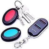 VODESON Wireless Key Finder RF Kabelloser Sachenfinder Schlüsselfinder Schlüsselanhänger Wallet Locator (2 Empfänger)