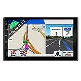 PX6 DSP Android 10 Doppel-Din-Auto-Stereo-Head-Unit |4G / 64G |Kostenlose Rückfahrkamera |Universelle Navigationsunterstützung HDMI 4K Video AHD Kamera WiFi BT5.0 Lenkrad DAB Google 4G Mirrorlink