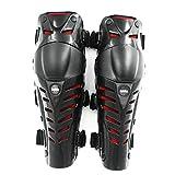 WSY Motorrad Schutzharte Kniewäder Motorradschutz Roller Motocross Racing Guards Sicherheitsgetriebe Rennstrecke Guard (Color : RED)