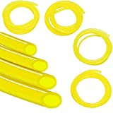 Benzinschlauch Schlauch 4 Größen 2 x 3,5 mm, 2,5 x 5 mm, 3 x 5 mm, 3,5 x 6 mm für Ölschlauch Diesel Schlauch PVC Schlauch-Trimmer Bürstenschneider Mäuse (1M)