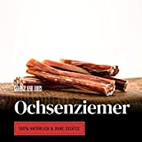 George & Bobs Ochsenziemer - 250g - Beste Ziemer in ca.12-15cm Stücken - Hochwertig und 100% Natürlich - ca. 10Stk.