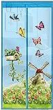 MWXFYWW Freisprech-Magnetmücke, Netz Tür Netz Anti Fly Insect Moskito Tür Bildschirm Sommer Küchenvorhang