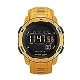 N \ A Sportuhr, Luminous Smart Watch, 50M wasserdichte Sportuhren für Herren, 12H / 24H Stoppuhr Kalender Armbanduhr, tropfenfest wasserdicht