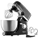 Multifunktions Küchenmaschine - 1000W - 6 Rührstufen - 4 Zubehörteile Inbegriffen - H-Rührbesen - Schneebesen - Knethaken - Elektrische Rührmaschine