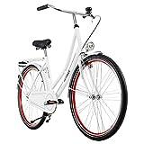 KS Cycling Hollandrad 28'' Tussaud weiß singlespeed RH 49 cm