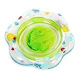 Schwimmring Baby Schwimmsitz Kinder Schwimmreifen Spielzeug, Schwimmhilfe Baby,Baby Schwimmhilfe, Baby Float mit Schwimmsitz PVC , Kleinkinder ab 6 Monate bis 36 Monate (Green)