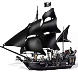 3D Bricks Puzzles,Segelboot Piratenschiff, Schlachtschiff Modell, Geburtstagsgeschenke Karibisches Piratenschiff Queen Anne's Revenge (875pcs)