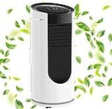 DMS® - Klimaanlage Mobiles Klimagerät 3in1 kühlen Luftentfeuchter, lüften, Ventilator - 9000 BTU/h (2.600 Watt) - Klima mit Montagematerial, Fernbedienung und 24h Timer, App-Funktion EEK: A MKW-9000
