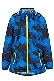 Mac in a Sac Unisex-Kinder Mini Origin II - Packable Waterproof Jacket Regenjacke, Blue Camo, 11-13 Years