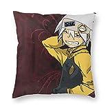 zhifan Soul Eater E Set Kissenbezug Soft Solid Couch Kissenbezüge für Schlafsofa 18 'x18