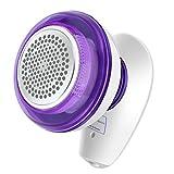 MixMart Fusselrasierer,elektrischer Fusselentferner USB Aufladbar Flusenentferner mit Ersatzschneidkopf Wollrasierer für Kleidung Textil Knötchen Pullover Schal