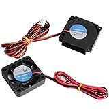 Furiga Lüfter 12V 4010 Ventilator Gebläse 40 x 40 x 10 mm Kreisventilator 3D Drucker Teile für CR10 CR10S Zubehör