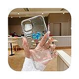 Schutzhülle für iPhone 11, Motiv: Liebe, Herz, niedlich, weich, für iPhone 11 Pro Max XR X XS Max 7 8 Plus Weich, Kl129-Blue-For Iphone11 Pro