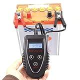 WEI-LUONG Widerstandszähler-Tester Digital Car Battery-prozentualer Tester, Autobatterie-Tester Batterie-Checker, Batterieprüfleben, CCA-Innenwiderstandsmessgerät M