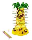 Mattel Games 52563 - S.O.S. Affenalarm Kinderspiel geeignet für 2 - 4 Spieler, Kinderspiele ab 5 Jahren