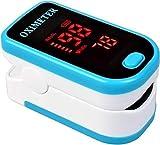 Pulsoximeter, Fingerpulsoximeter für die Messung des Puls und der Sauerstoffsättigung am Finger, Fingerspitzen Pulsoximeter